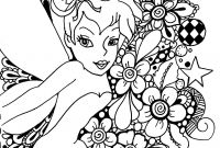 Printable Tinkerbell Coloring Pages - Picture Tinkerbell to Color New Free Printable Tinkerbell Gallery
