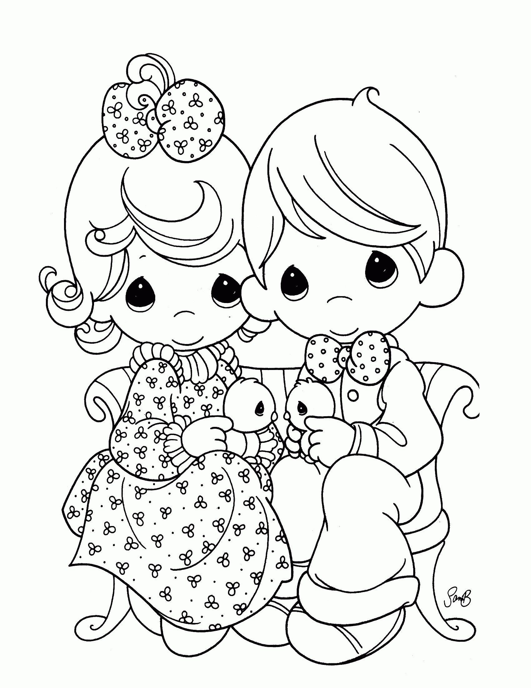 Precious Moments Coloring Book Pages to Print Gallery 1d - Save it to your computer
