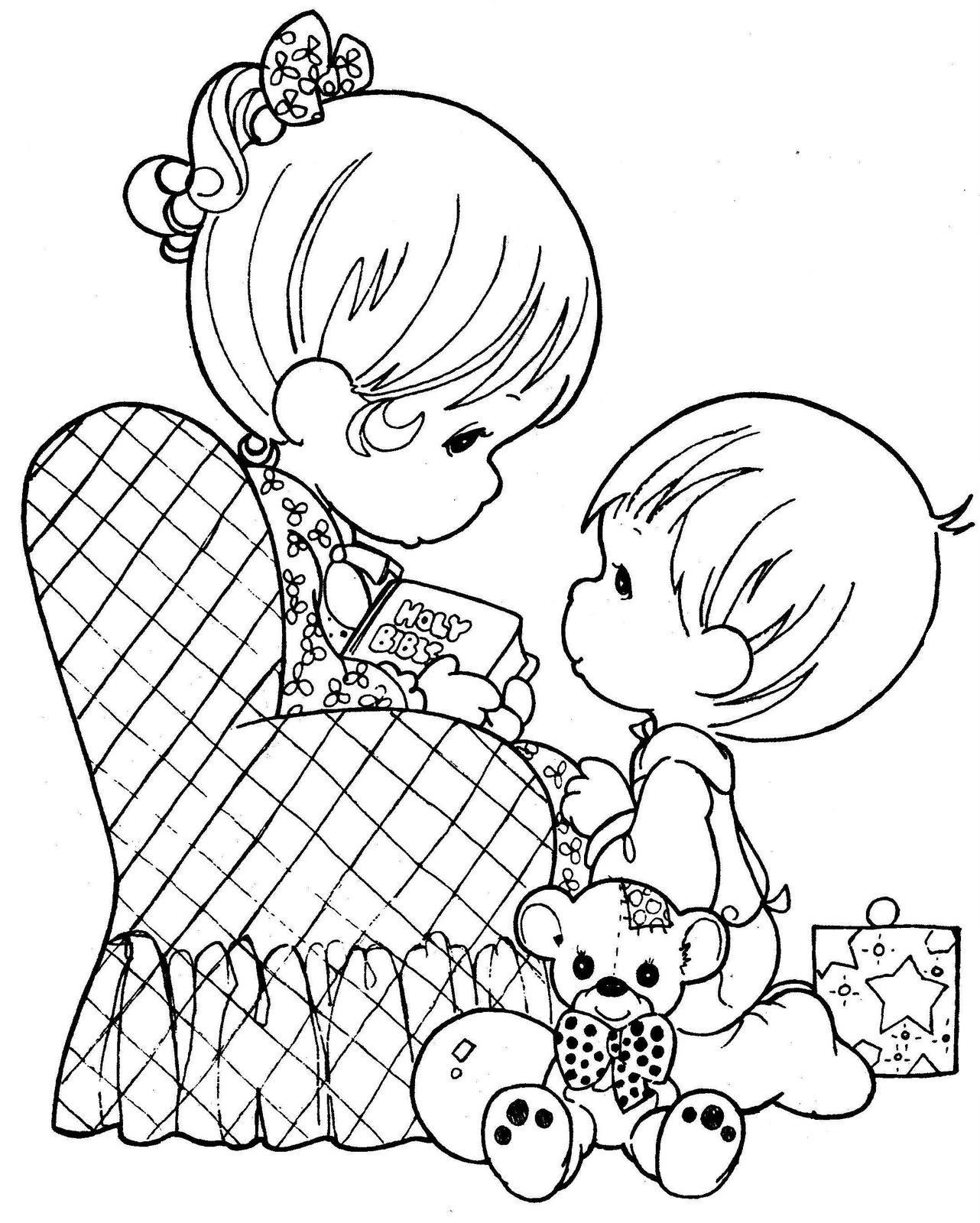 Precious Moments Coloring Book Pages to Print Gallery 2o - Save it to your computer