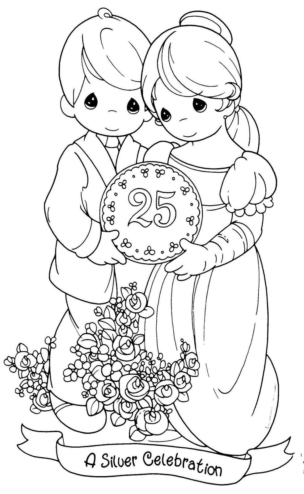Precious Moments Coloring Pages Bible Coloringstar Download – Free ...