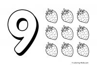 Preschool Number Coloring Pages - Preschool Coloring Book Fresh 9 Numbers Coloring Pages for Kids Printable