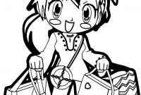 Shopping Coloring Pages - Pretty Cute Anime Girls Coloring Pages for Kids Womanmate Collection