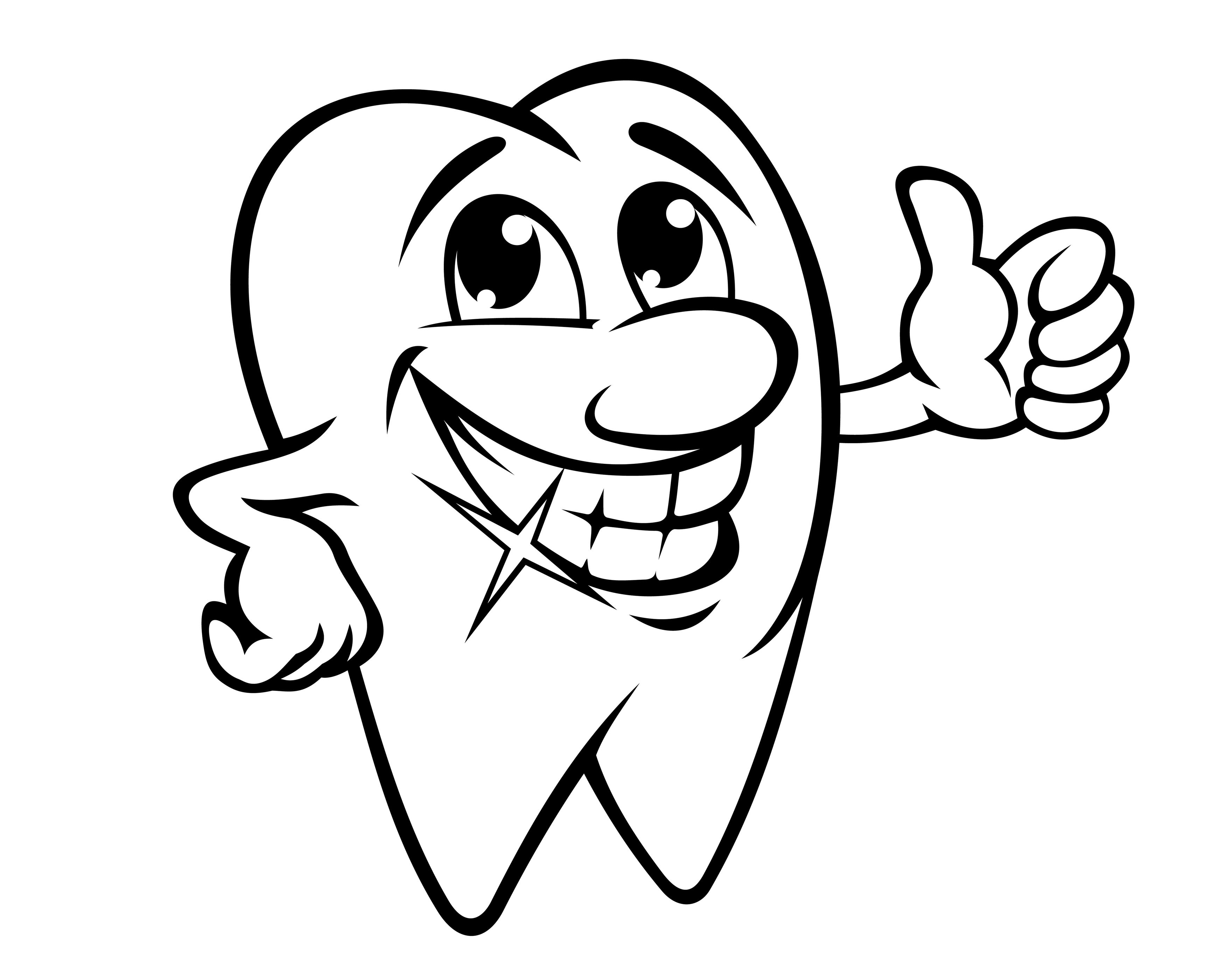 Printable 8 Dental Health Coloring Pages Free Coloring Book Gallery ...