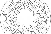 Celtic Mandalas Coloring Pages - Printable Celtic Mandalas Worksheet & Coloring Pages Gallery