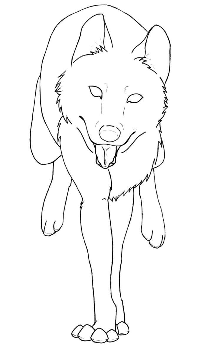 Anime Wolf Couples Coloring Pages Coloring Pages Wolves In Love ...