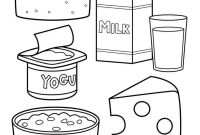 Coloring Pages Of Healthy Foods - Printable Healthy Eating Chart & Coloring Pages Happiness is Homemade Printable