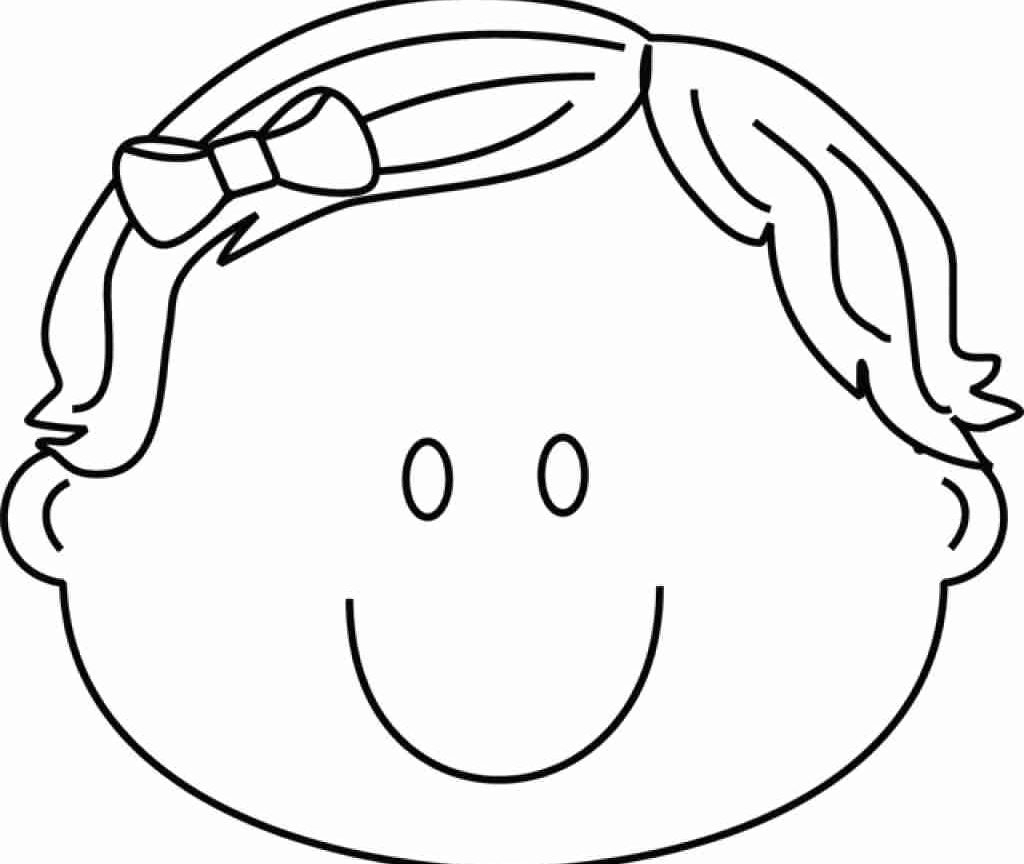 Smiling Coloring Pages Collection 18c - To print for your project