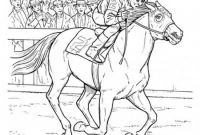 Race Horse Coloring Pages - Race Horse Coloring Pages Feel the Fantasy and Love Free Printable Gallery