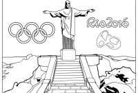 Special Olympics Coloring Pages - Rio 2016 Olympic Games Christ the Redeemer Statue Olympic & Sport Collection