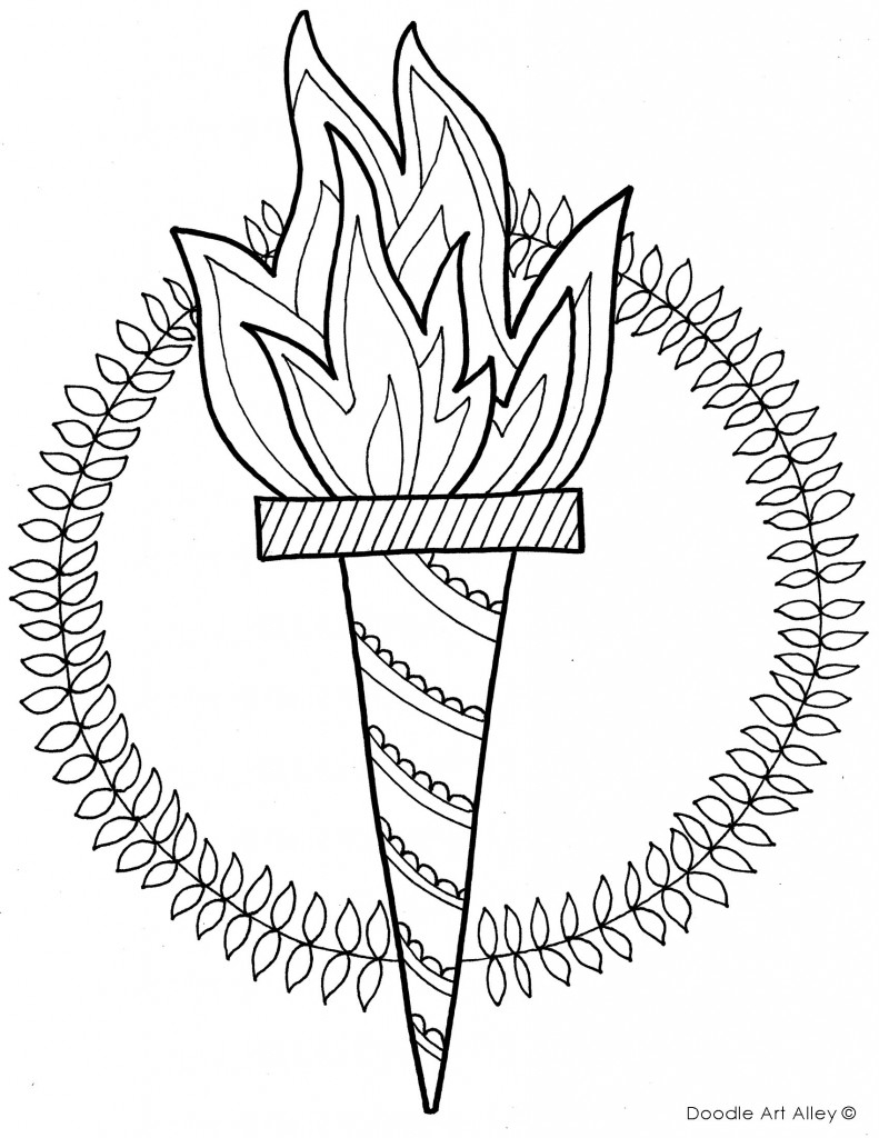 Rio Olympics Coloring Page Printable Pages the Leopard sochi Mascot Gallery Of Special Olympics Coloring Pages Inspirational Olympic torch Coloring Download