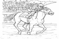 Race Horse Coloring Pages - Secretariat Coloring Pages Running Race Horse Grig3 to Print