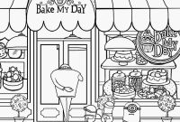 Shopping Coloring Pages - Shop Coloring Page Gallery
