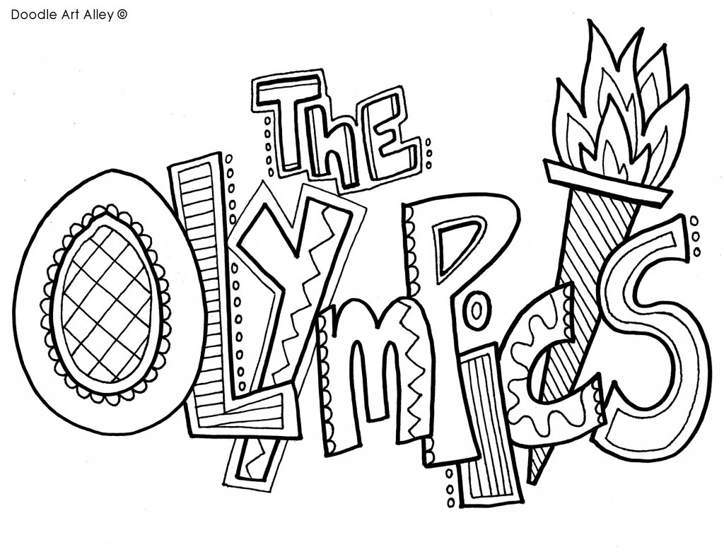 Special Olympics Coloring Pages Inspirational Olympic torch Coloring Download Of Olympic Games Gymnastic Paris 2024 Olympic & Sport Adult to Print