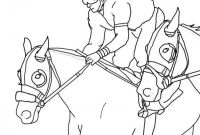 Race Horse Coloring Pages - Sturdy Race Horse Coloring Pages to Print Racing Color 671 Download