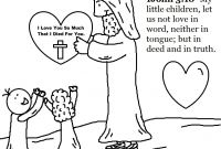 Coloring Pages for Sunday School Lessons - Sunday School Coloring Pages Printable