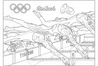 Special Olympics Coloring Pages - Swim Team Coloring Pages 6107 821—1061 – Fun Time to Print