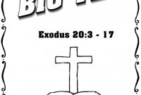 Praise and Worship Coloring Pages - Ten Mandments Coloring Sheets New Obey Your Parents Coloring to Print