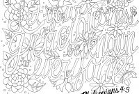 Praise and Worship Coloring Pages - Unique Free Printable Scripture Coloring Pages for Adults Gallery Collection