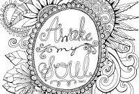 Praise and Worship Coloring Pages - Whatever is Lovely by Waterbrook Printable