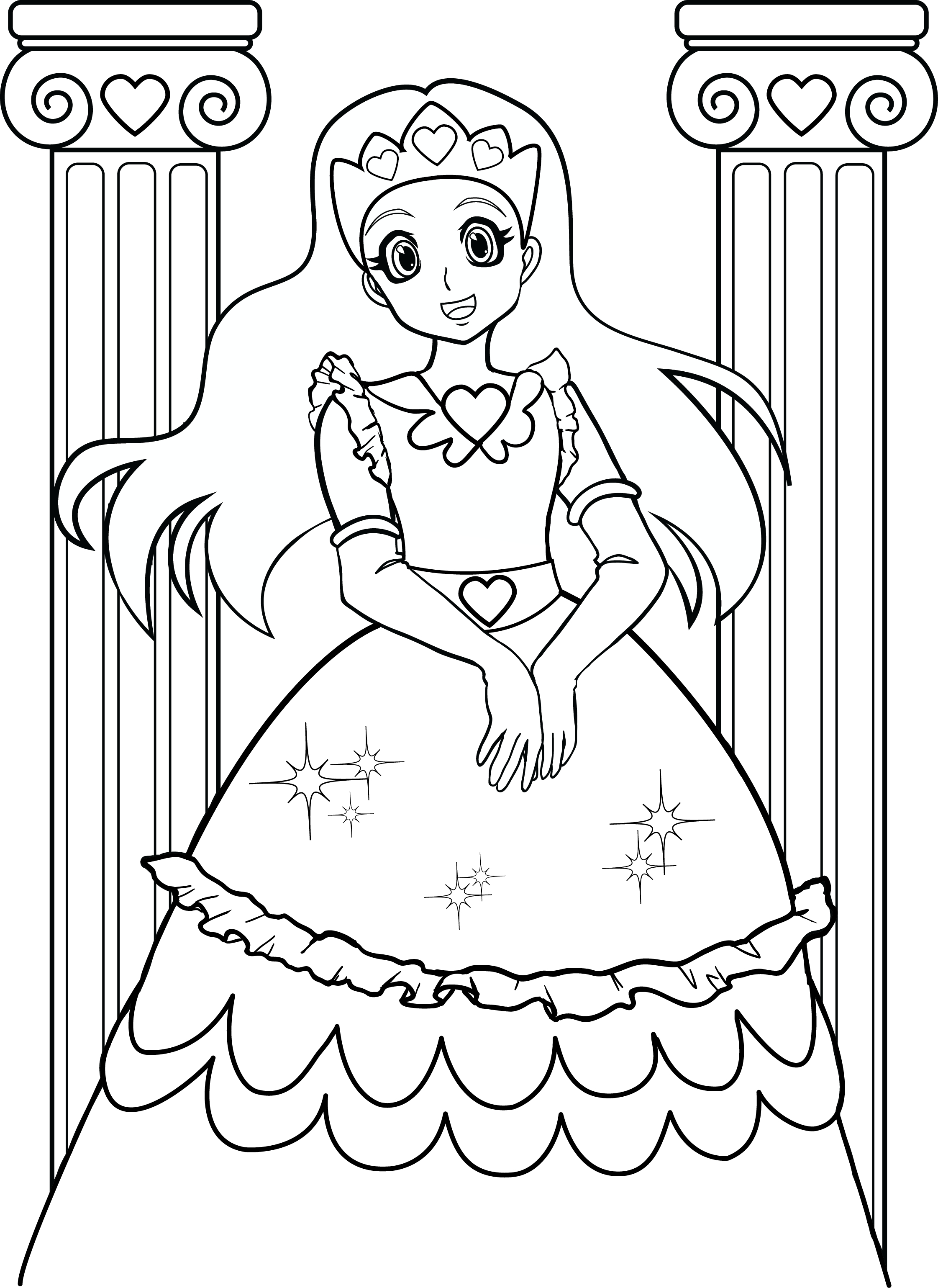 Winning Coloring Pages Line for Girls Coloring to Funny Girls Gallery Of 13 Kid Coloring Pages Line Gallery