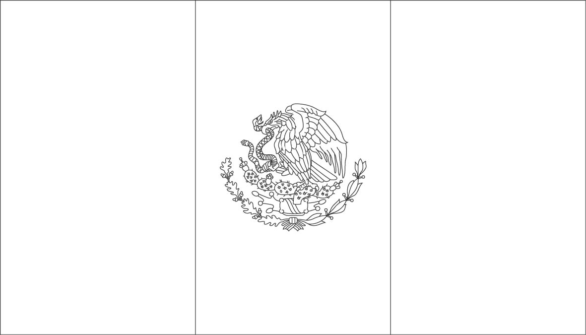 World Flags Coloring Sheets 5 to Print – Free Coloring Sheets