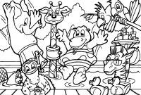 Animal Coloring Pages - Animals Color Sheets Carnavalsmusic