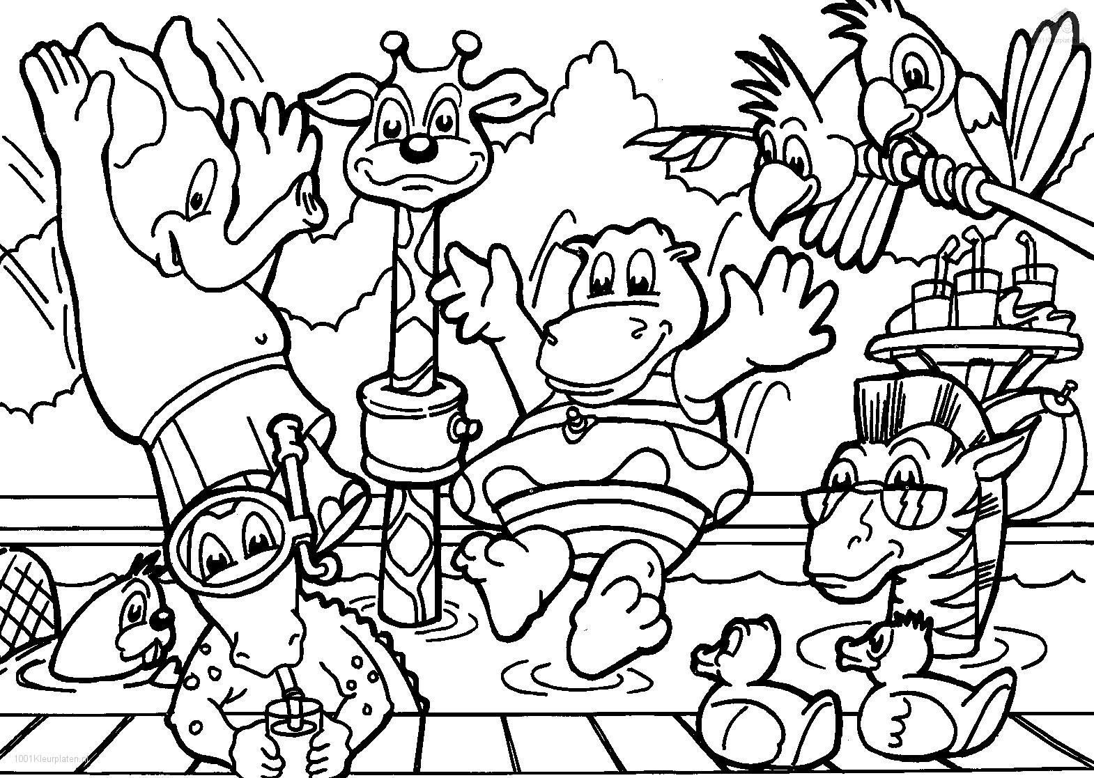 Animal Coloring Pages to Print | Free Coloring Sheets