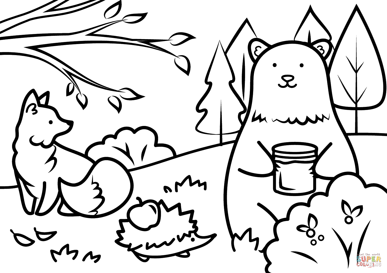 Animal Coloring Pages to Print 18h - Free For kids