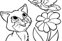 Animal Coloring Pages - Awesome Flower Animal Coloring Pages Collection