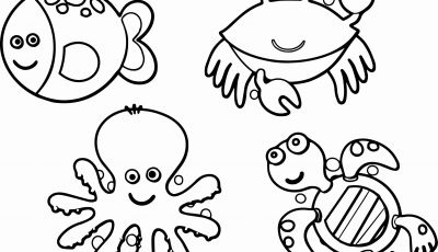 Animal Coloring Pages - Best Ocean Animal Coloring Pages Bravica Co Refrence Animals