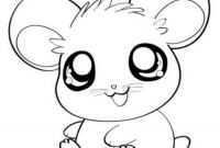Animal Coloring Pages - Simple Anime Animals Coloring Pages Seomybrand