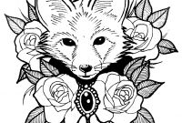 Animal Coloring Pages - Simplified Cute Animal Coloring Pages for Adults to Print Free