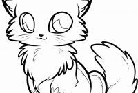 Cat Coloring Pages - Anime Cats Drawing Nice Cute Anime Cat Coloring Pages Seomybrand