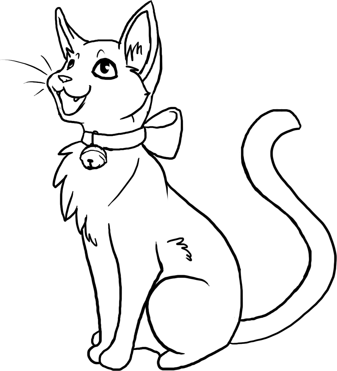Cat Coloring Pages Download