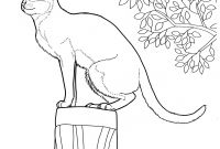 Cat Coloring Pages - Cat 12 Cats Coloring Pages for Teens and Adults