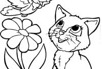 Cat Coloring Pages - Kitty Cat Coloring Pages Fresh Vogel En Kat Coloring Pages Kids