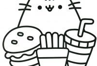 Cat Coloring Pages - Pusheen Coloring Book Pusheen Pusheen the Cat