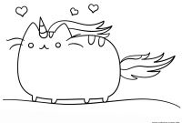 Cat Coloring Pages - Spotlight Kawaii Cat Coloring Pages Printable