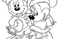 Christmas Coloring Pages - 28 Collection Of Disney Christmas Coloring Pages
