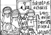 Christmas Coloring Pages - Christian Christmas Coloring Pages Christmas Religious Coloring