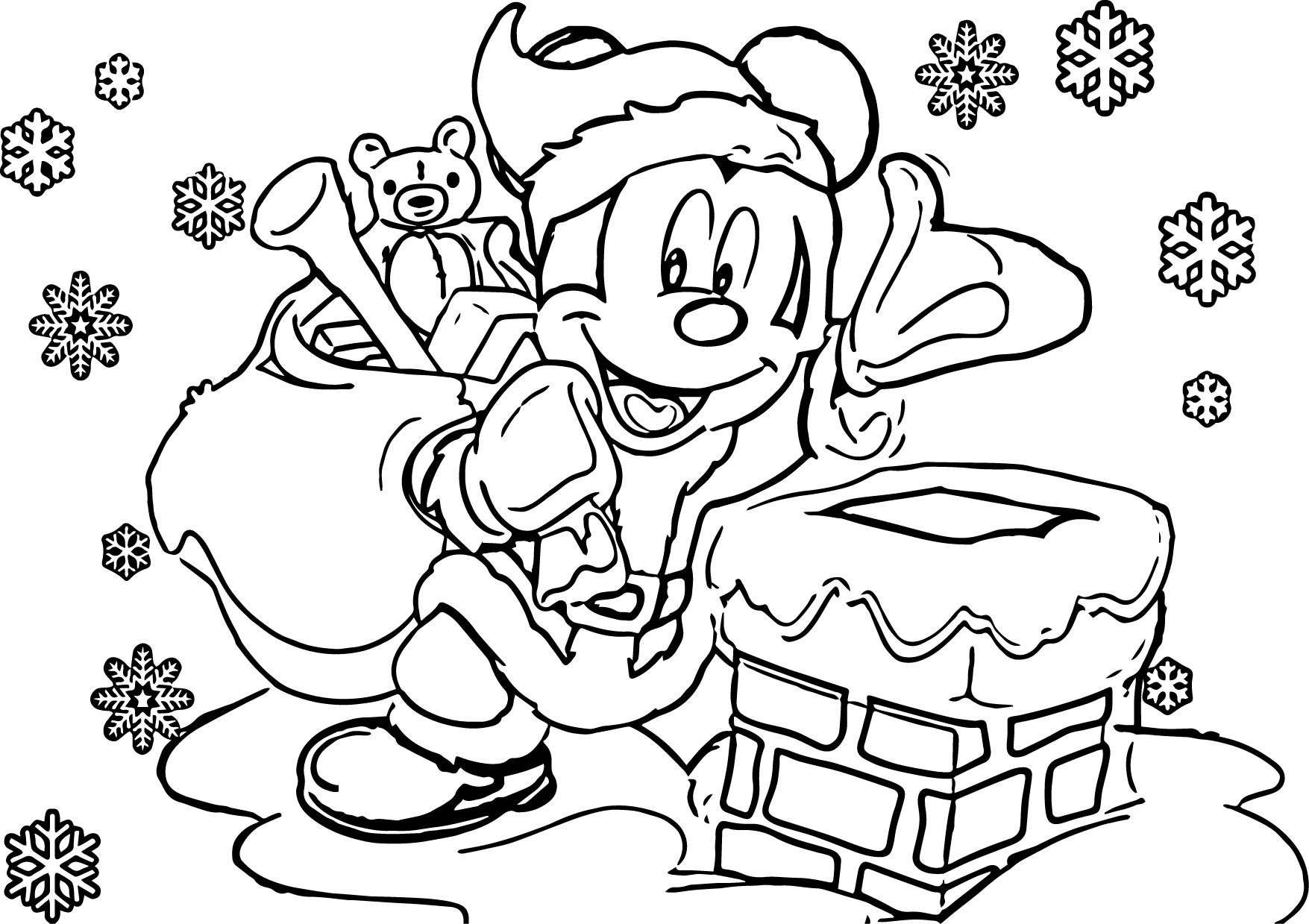 Christmas Coloring Pages Gallery 7n - Save it to your computer