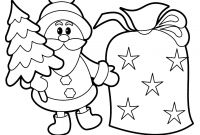Christmas Coloring Pages - Christmas Coloring Pages for Kindergarten Students