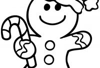 Christmas Coloring Pages - Christmas Coloring Pages Gingerbread Man