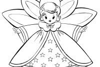 Christmas Coloring Pages - Free Christmas Coloring Pages Retro Angels the Graphics Fairy