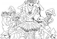 Christmas Coloring Pages - Frozen Christmas Coloring Page Kristen Hewitt