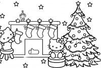 Christmas Coloring Pages - Merry Christmas Coloring Pages Line