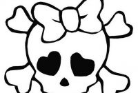 Coloring Pages for Girls - Beautiful Girl Skulls Colouring Pages From Coloring for Girls