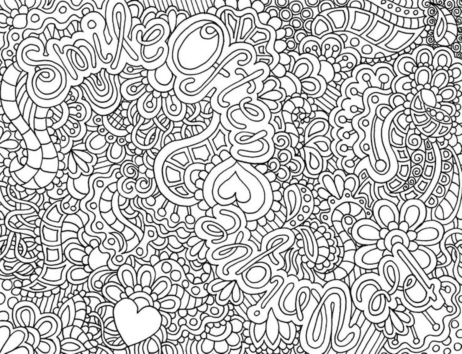 Coloring Pages for Girls Printable | Free Coloring Sheets