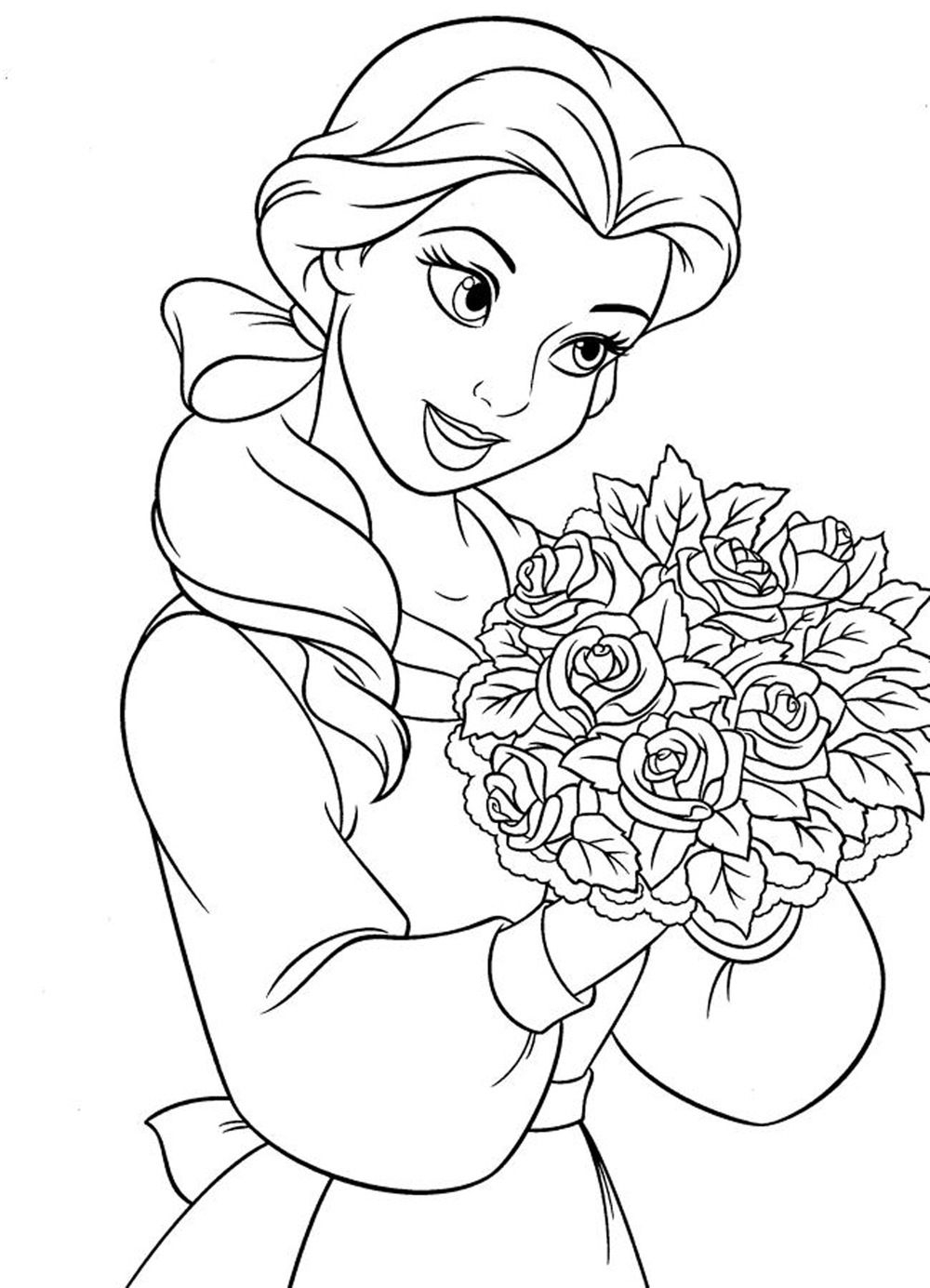 Coloring Pages for Girls Printable 18p - Free For Children
