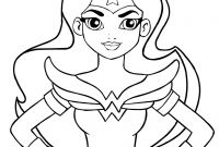 Coloring Pages for Girls - Super Hero Girls Coloring Pages Nazly